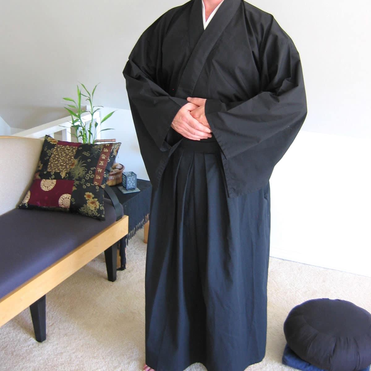 Full Lay Robe Still Sitting Meditation Supply